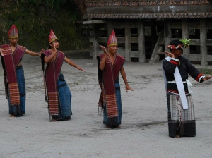 Batak's traditional dance