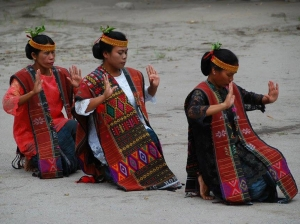 Batak's women traditional dance