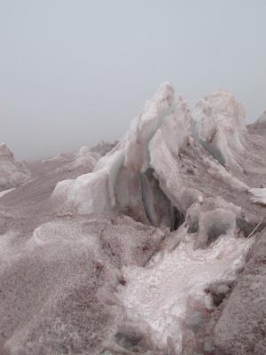 Cotopaxi glacie