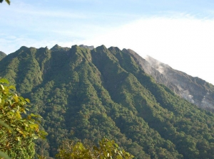 Gunung Sibayak volcano