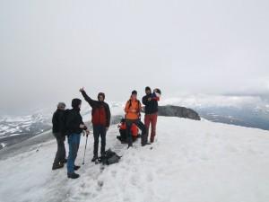 Summit conquered