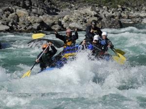 Rafting Karnali river