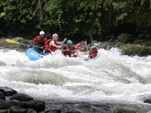 Rafting rio bianco