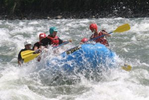 Rafting and trekking in Ecuador