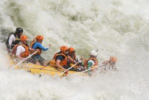 Rafting on Zambezi, Zimbabwe