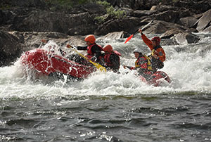 Rafting in Norway